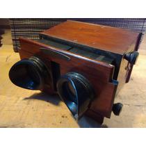 Proyector O View Master Stereoscopio De 1900 Hecho En París