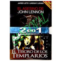 Dvd El Asesino De John Lennon Y El Tesoro De Los Templarios