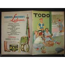 Revista Todo # 1134, Portada Nuestros Deportstas Doming 1955