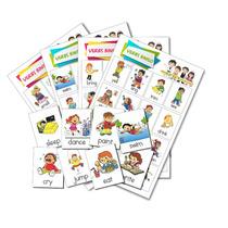 Loteria Para Imprimir - Verbos En Ingles - Aprender Inglés