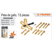 Oferta Extractor Pata De Gallo 13 Pzs Marca Truper