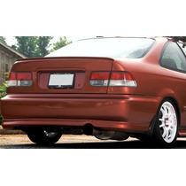 Aleron Tipo Lip En Cajuela Honda Civic Coupe 1996 - 2000