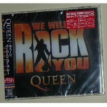 Queen We Will Rock You Cd Single Japones + Karaoke
