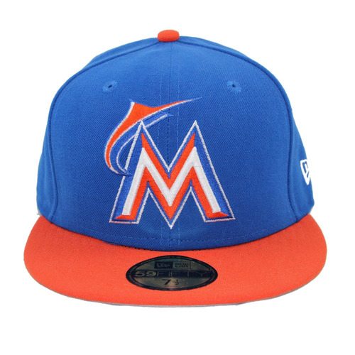 ab779b0423755 GORRAS NEW ERA BEiSBOL MARLiNS MiAMi 59FiFTY 10832495 10832495 – Ibushak