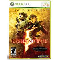 ..:: Resident Evil 5 Gold Edition ::.. Para Xbox 360