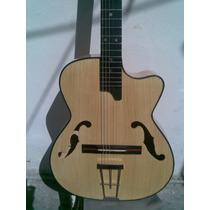 Guitarra Acústica Cedro Blanco F´s Holes Vv4