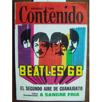 Revista Contenido, Beatles, José Gómez N°57