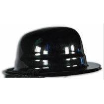 10 Sombreros Bombín Negro Económico Brilloso