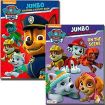 Paw Patrulla Colorear Y Activity Book Set (2 Libros ~ 96 Pág