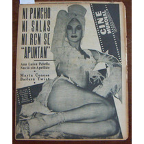 Revista Cinemundial, Ana Luisa Peluffo En Portada