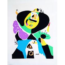 Joan Miró. Serigrafía. Firmada