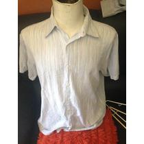 Camisa De Vestir Marca .perry Ellis Talla Xl.