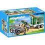 Playmobil 4855 Zoologico (vehiculo Con Remolque)!!! Gzt