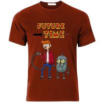Playeras O Camiseta Hora De Futurama, Flinn Y Bender