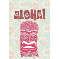 Exótico Hawaii Aloha Garden Bandera Decorativo Bienvenido Ba