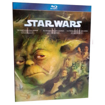 Star Wars Trilogia Episodios 1 , 2 , 3 Peliculas Blu-ray