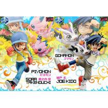 Digimon Adventure Sora Y Piyomon / Jou Y Gomamon