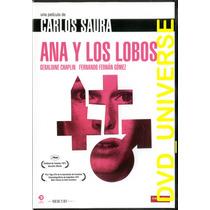 Carlos Saura: Ana Y Los Lobos. Pal Región 2 Dvd