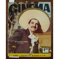 Revista Cinema,victor Manuel En Portada,ana Luisa Peluffo