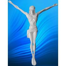 Cristo De Alabastro Figura Escultura Marmol Recuerdo Relieve