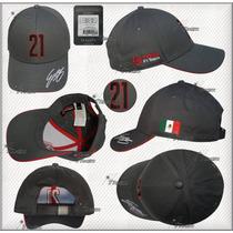 Gorra Esteban Gutierrez # 21 Haas F1 Team Genuina Linea 2016