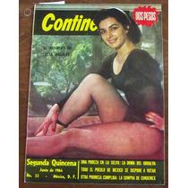 Revista Continente, Elsa Aguirre En Portada