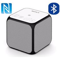 Minibocina Bluetooth Sony Nfc 12hrs Cubo Blanco Manos Libres