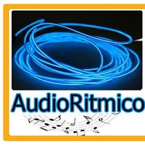 Hilo Luminoso Audioritmico Neon Tron Tuning Hm4 Dj Moto