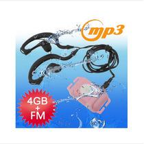 Reproductor De Mp3 De 4gb Fm Impermeable Agua Función De Rad