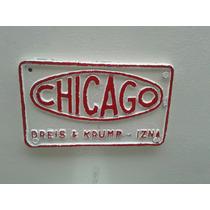 Cizalla Marca Chicago