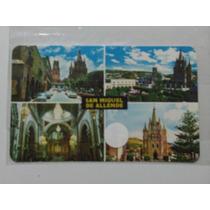 Catedral De San Miguel De Allende, Tarjeta Postal Mexico