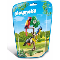 Playmobil 6653 Aves Tropicales Animal Zoologico Retromex
