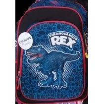 Backpack Mochila Tiranosaurio Rex Jurassic Park 3d