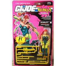 Gi Joe Cobra Scarlett V2 1993 Ninja Force Intelligence Op4