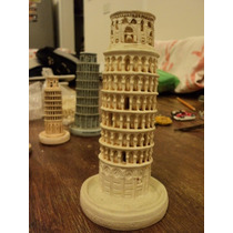 Torre Pisa Italia Recuerdo Miniatura Italiana Souvenir