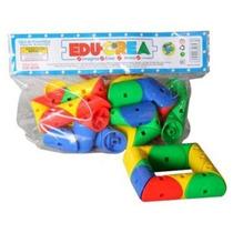 Edc-6038 Víboras Ensarte Juego De Construcción 5+ Educrea