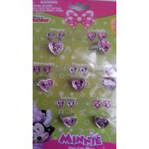 Set De Anillos Plastico Disney Mimi! Recuerdo, Regalo
