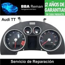 Audi Tt Tablero Cuadro De Instrumentos: Reparacion