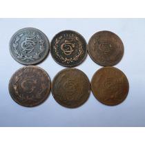 16 Monedas Antiguas 5 Centavos 1914-1935 Un Precio