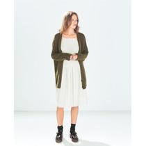 Vestido Zara Trf S/m Menta