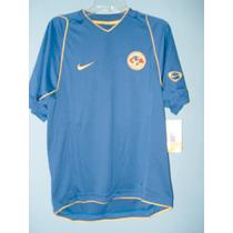 Jersey Nike Para Niño America Color Azul Manga Corta Talla S