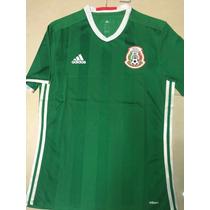 Jersey México 2016 Vjugador Copa América Centenario Rotulado
