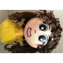 Piñata Tipo Princesas Disney Malefica Valiente Frozen