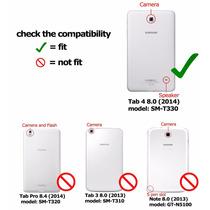 Funda Samsung Galaxy Tab 8.0, 4 De La Tableta Con Lápiz