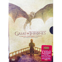 Juego De Tronos Temporada 5 Cinco Game Of Thrones Dvd