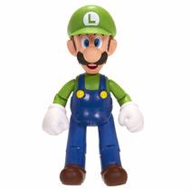 World Of Nintendo 4 Luigi Figure With 1up Accessory