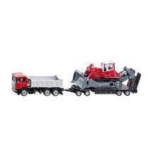 Juguete Remolque Digger - Siku Truck W & Miniexcavadora 1:87
