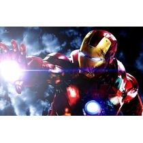 Kit Imprimible Iron Man Invitaciones Fiesta Cumpleaños Torta