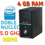 Pc Cpu Intel Doble Núcleo 5.2 Ghz , 4 Gb Ram Ddr3 Socket 775