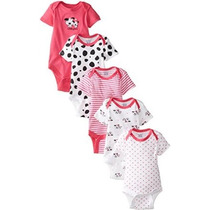 Gerber Baby-niñas Recién Nacidas Cinco-paquete Variety Onesi
